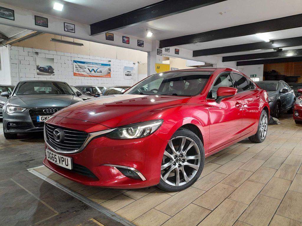 Mazda Mazda6 Saloon 2.2 SKYACTIV-D Sport Nav 4dr