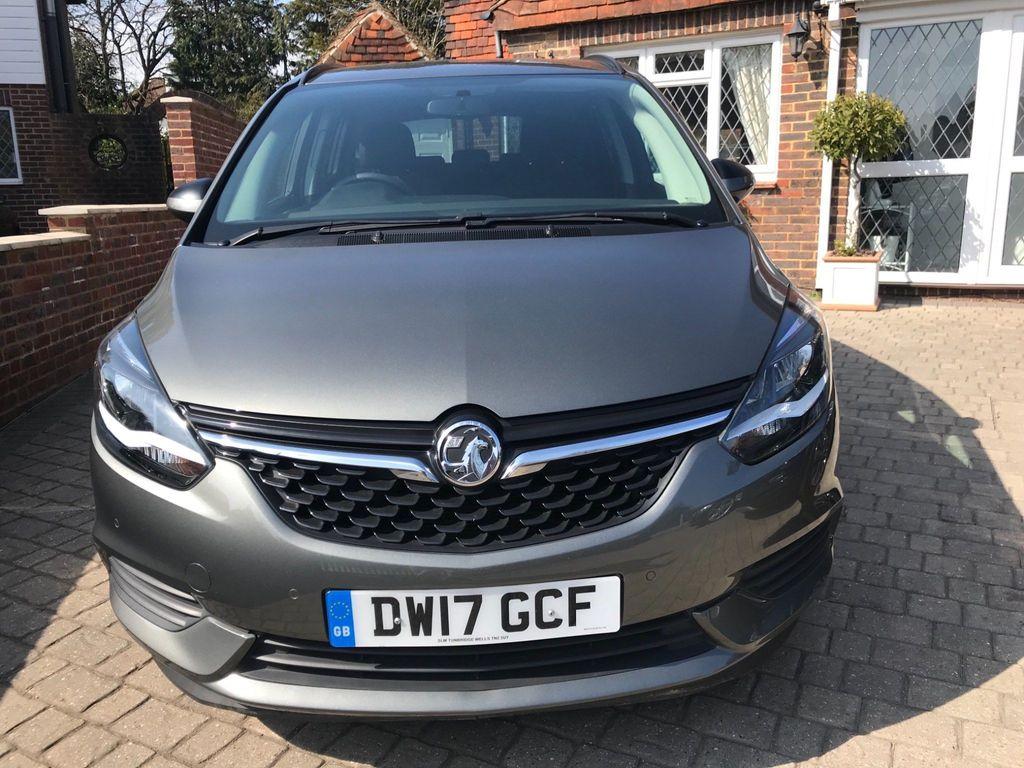 Vauxhall Zafira Tourer MPV 1.4i Turbo Design Tourer 5dr