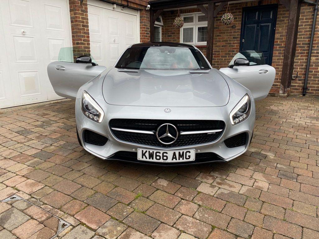 Mercedes-Benz AMG GT Coupe 4.0 V8 BiTurbo (Premium) SpdS DCT (s/s) 2dr