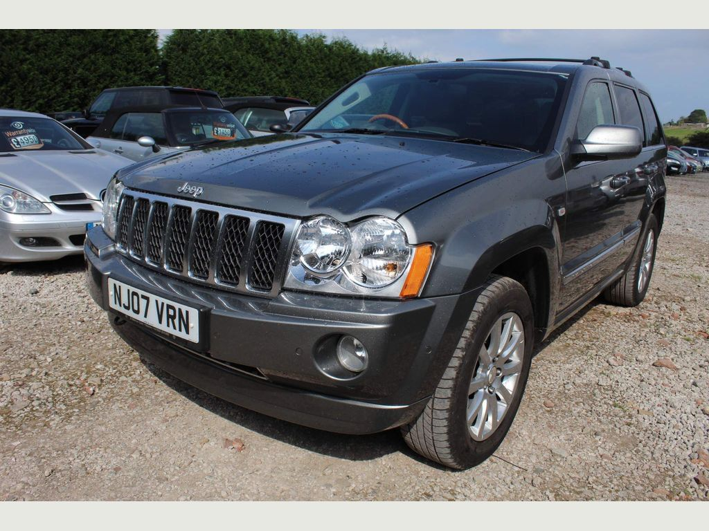 Jeep Grand Cherokee SUV 3.0 CRD Overland 4WD 5dr