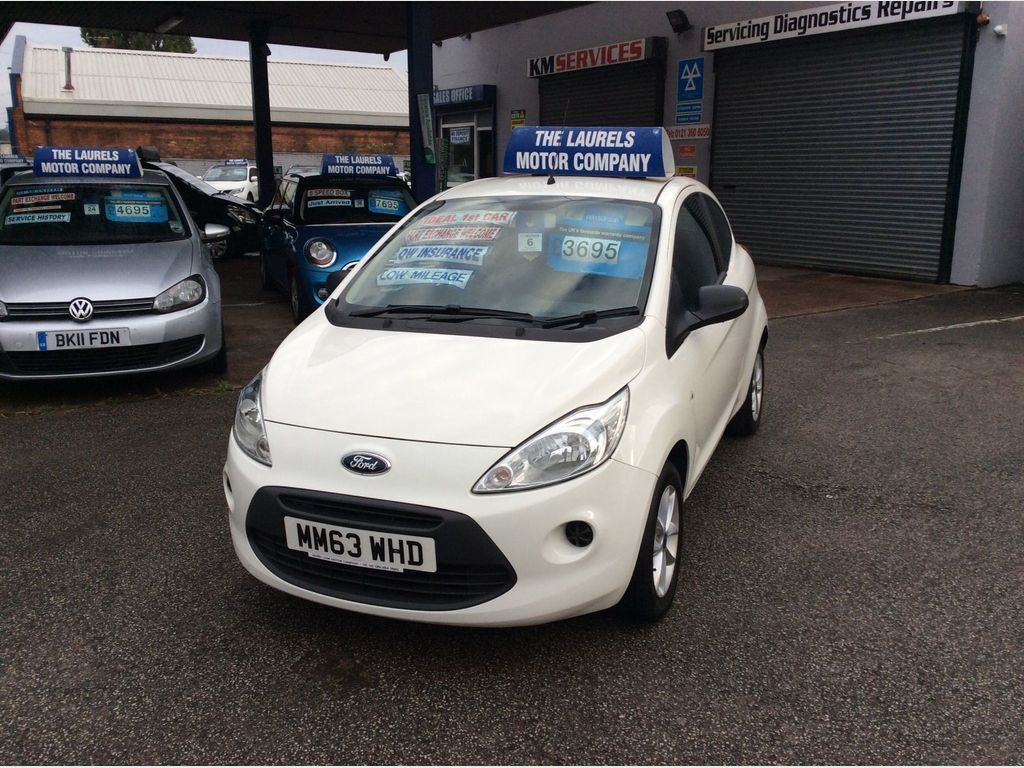 FORD KA Hatchback 1.2 Studio Connect 3dr