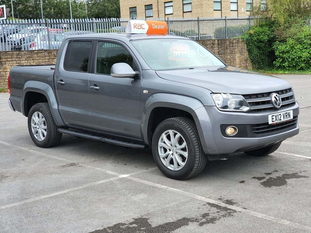 Volkswagen Amarok Pickup 2.0 BiTDI BlueMotion Tech Highline Per Pickup 4MOTION 4dr (2.82t)