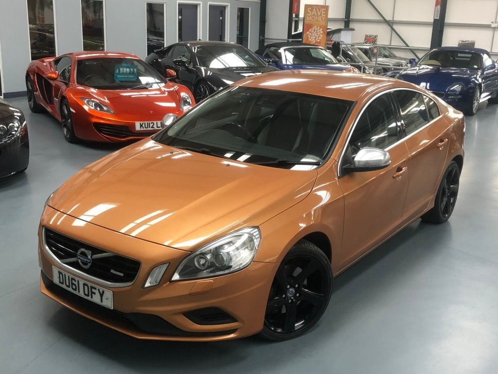 Volvo S60 Saloon 2.4 D5 R-Design Geartronic 4dr