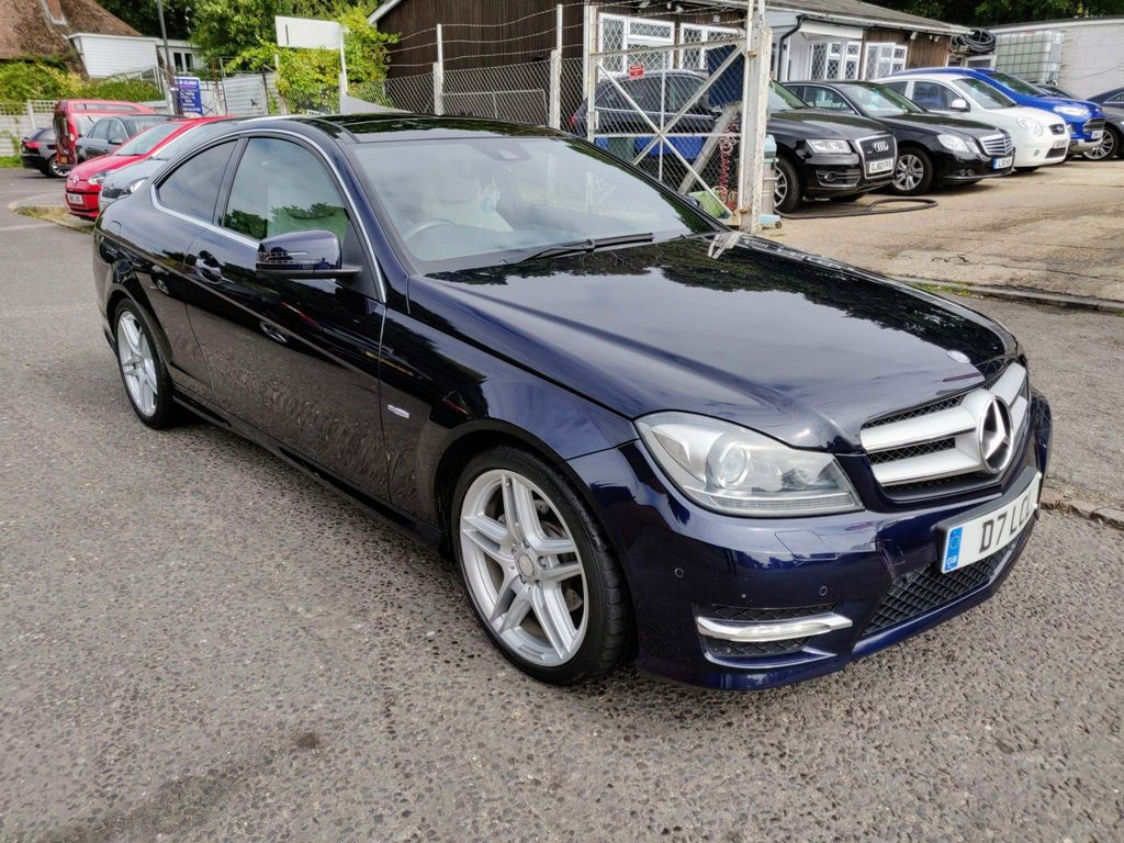 Mercedes-Benz C Class Coupe 2.1 C220 CDI BlueEFFICIENCY AMG Sport Edition 125 7G-Tronic 2dr