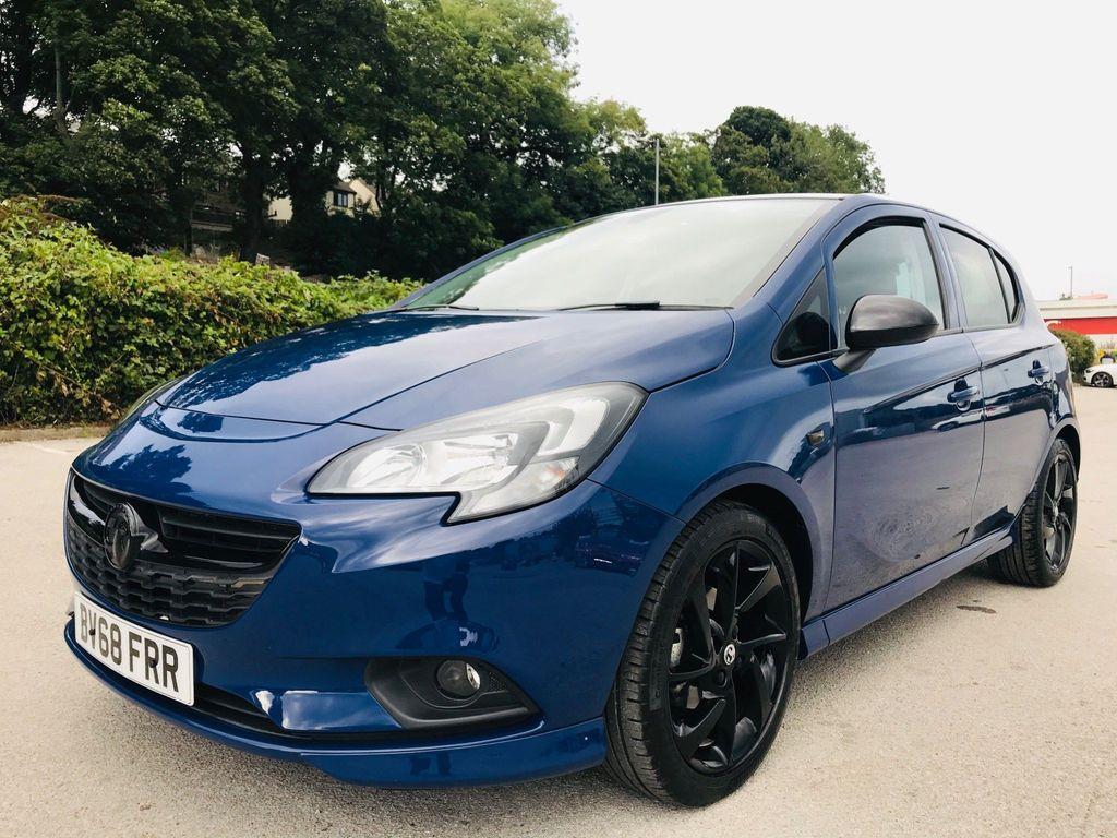 Vauxhall Corsa Hatchback 1.4i SRi VX Line Nav Black (s/s) 5dr