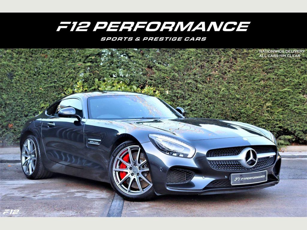 Mercedes-Benz AMG GT Coupe 4.0 V8 BiTurbo S (Premium) SpdS DCT (s/s) 2dr