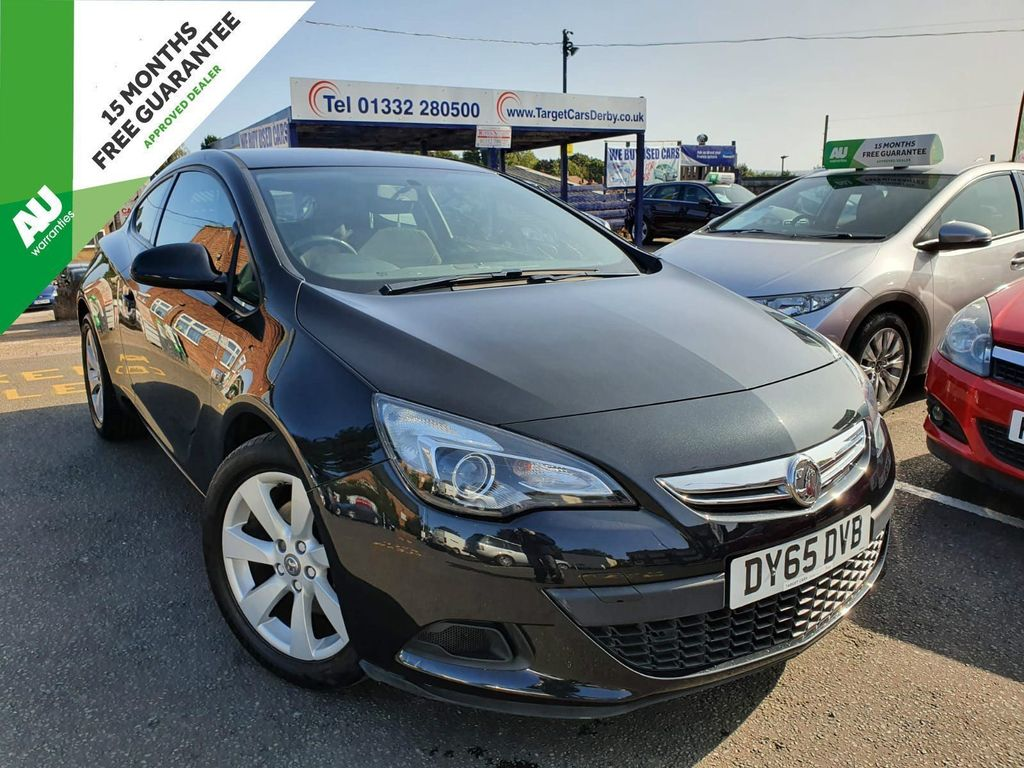 Vauxhall Astra GTC Coupe 1.4i Turbo Sport (s/s) 3dr
