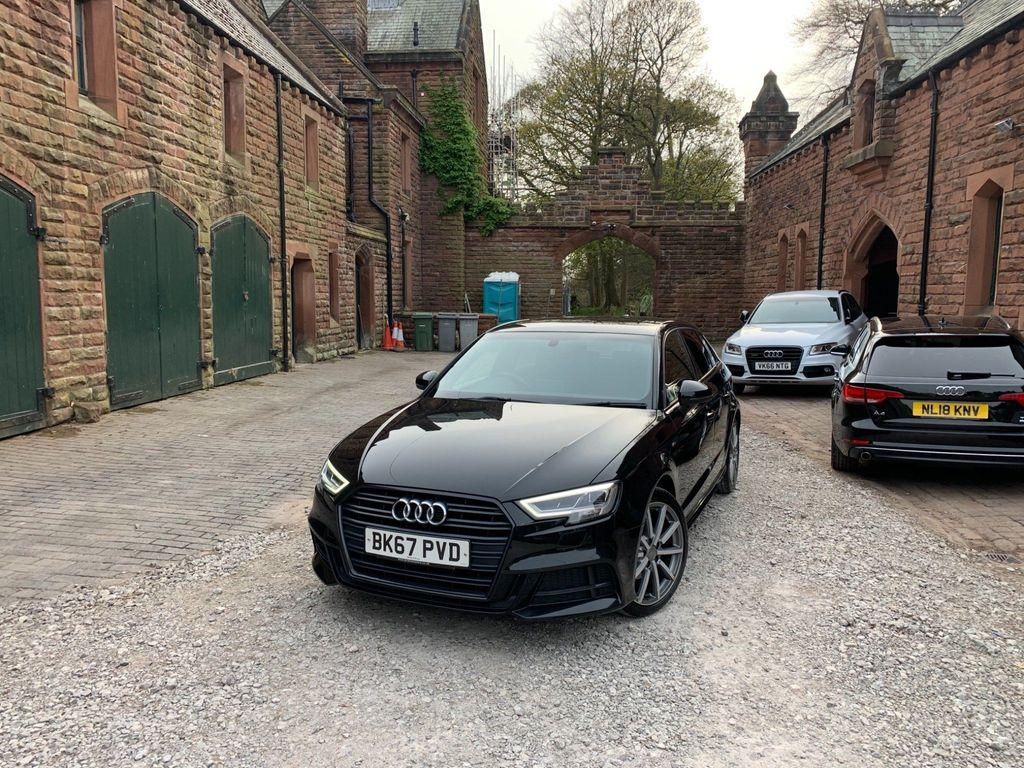 Audi A3 Hatchback 1.5 TFSI CoD Black Edition Sportback (s/s) 5dr