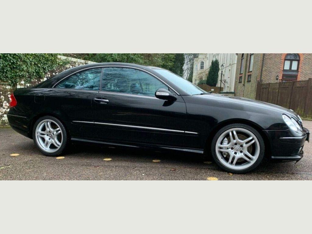 Mercedes-Benz CLK Coupe 5.4 CLK55 AMG 2dr