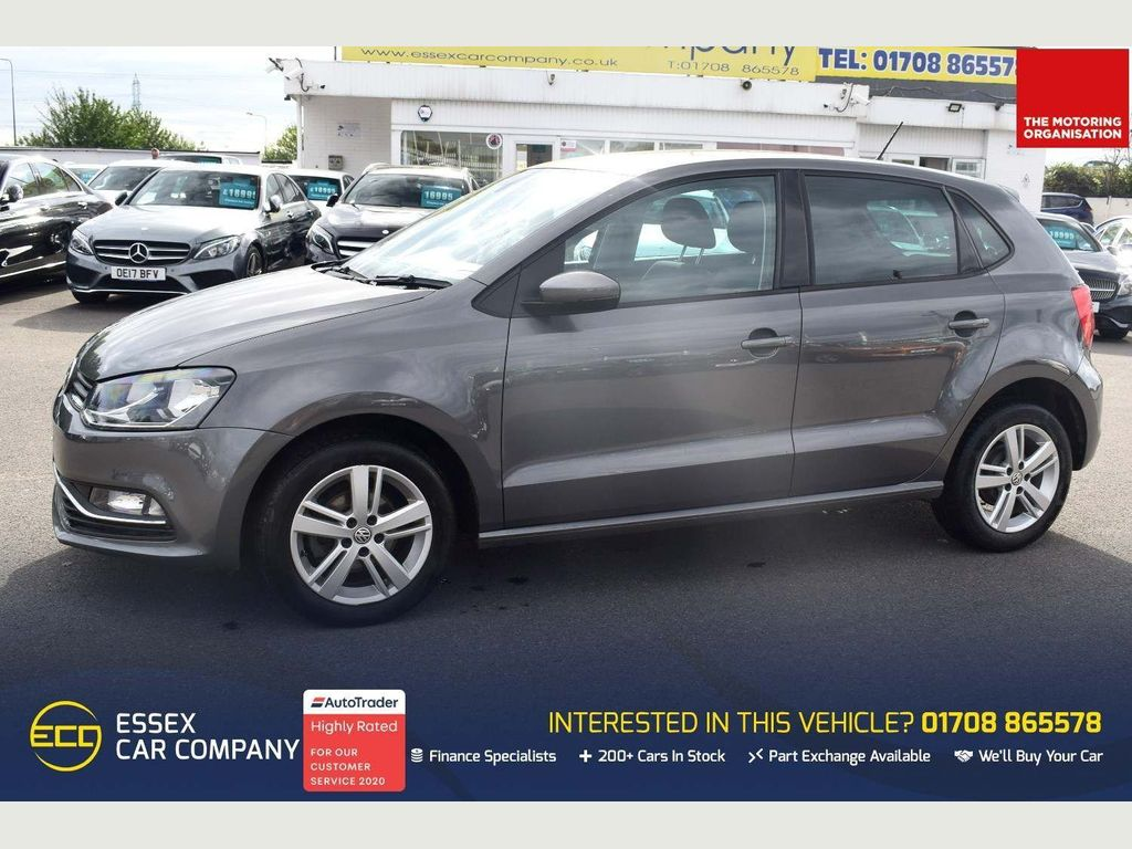 Volkswagen Polo Hatchback 1.4 TDI Match Edition (s/s) 5dr