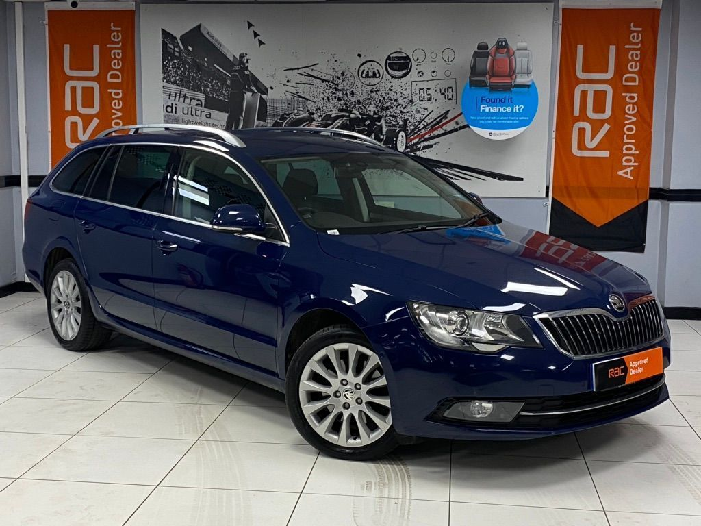 SKODA Superb Estate 2.0 TDI SE Business 5dr