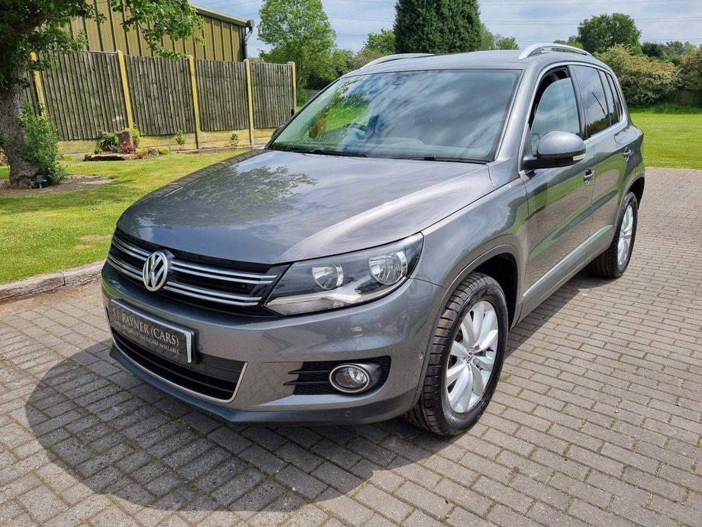 Volkswagen Tiguan SUV 2.0 TSI Match 4WD 5dr