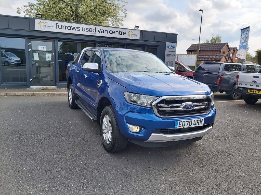 Ford Ranger Pickup 2.0 EcoBlue Limited Double Cab Pickup 4WD 4dr