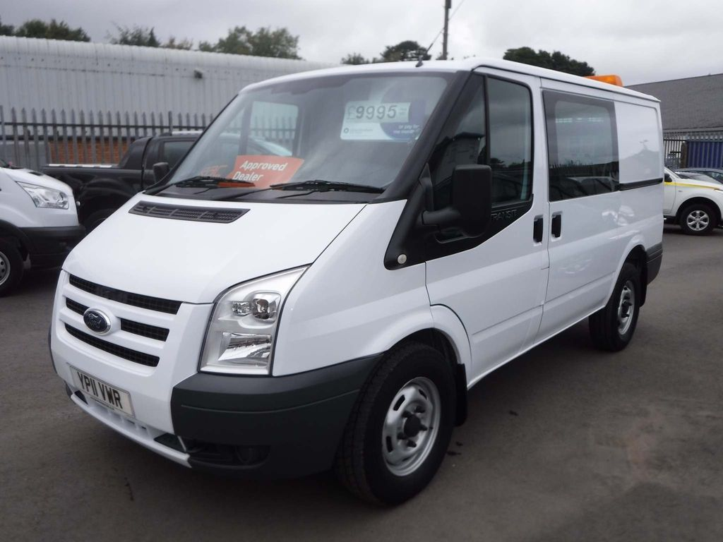 Ford Transit Window Van 2.4TDCI 140ps AWD 4X4 SWB With TailGate