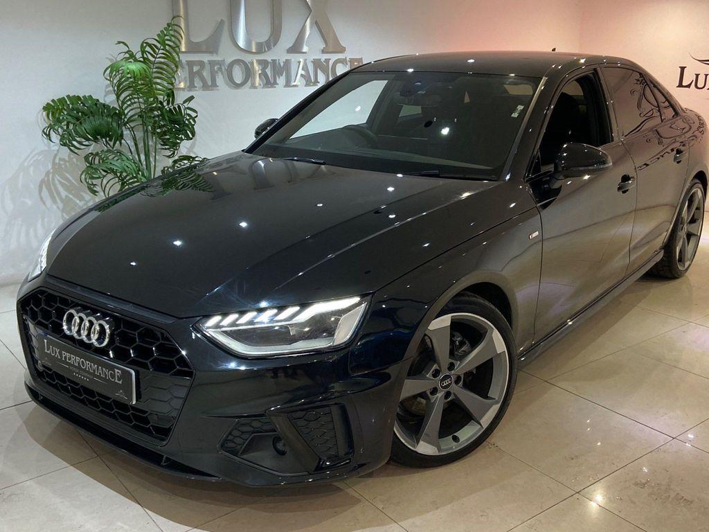 Audi A4 Saloon 2.0 TFSI 40 Black Edition S Tronic (s/s) 4dr