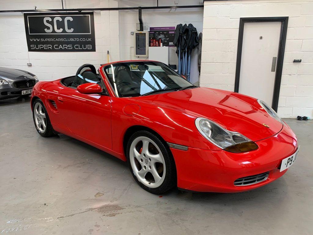 Porsche Boxster Convertible 2.7 986 2dr