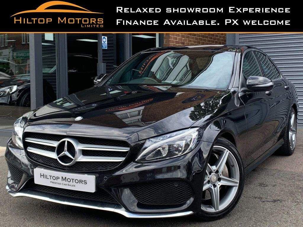 Mercedes-Benz C Class Saloon 2.1 C250d AMG Line (Premium) 7G-Tronic+ (s/s) 4dr