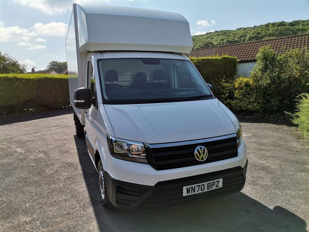 Volkswagen Crafter Chassis Cab LUTON CR35 LWB