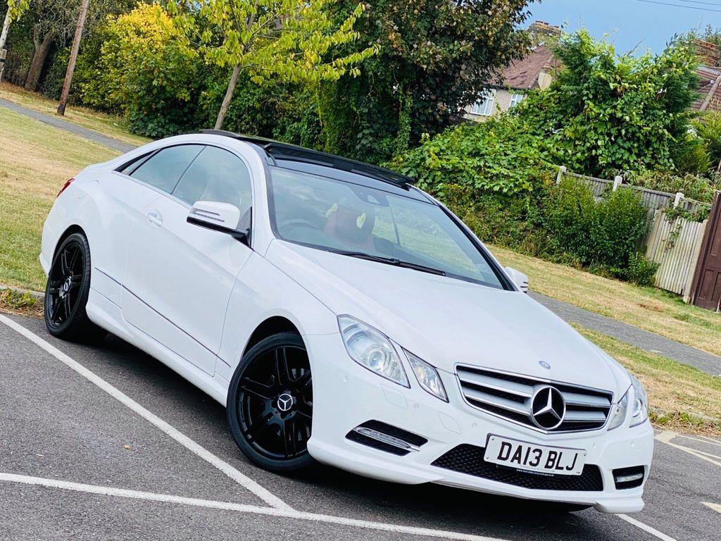 Mercedes-Benz E Class Coupe 1.8 E250 CGI BlueEFFICIENCY Sport 2dr