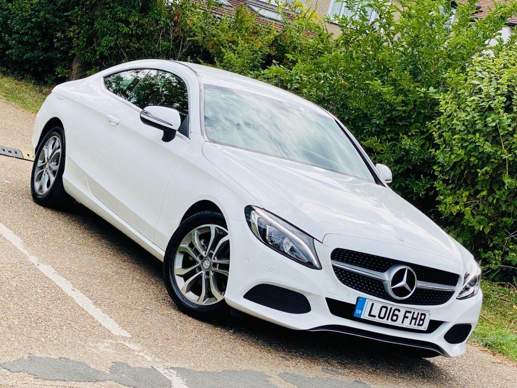 Mercedes-Benz C Class Coupe 2.0 C200 Sport 7G-Tronic+ (s/s) 2dr