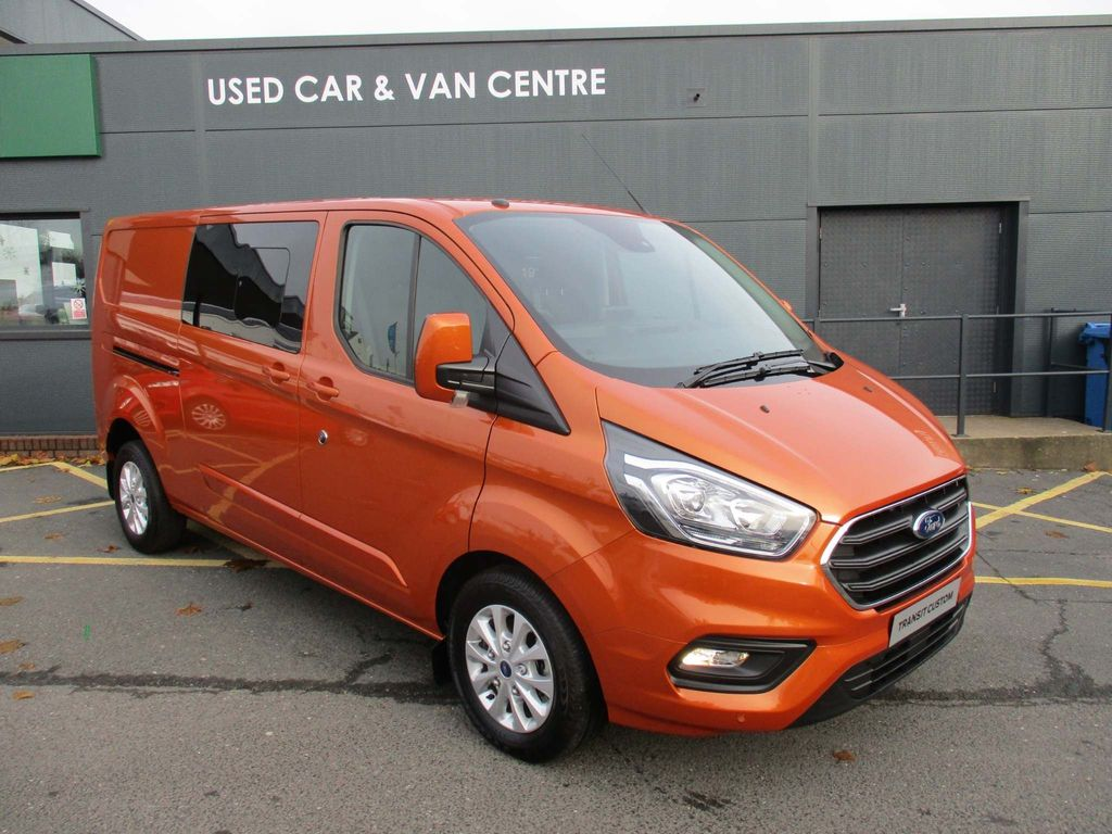 Ford Transit Custom Other 2.0 TDCi 320 L2H1 Limited DCIV 6dr (6 Seat)