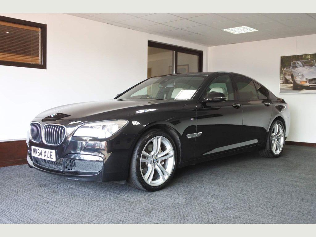 BMW 7 Series Saloon 3.0 740d M Sport Exclusive (s/s) 4dr