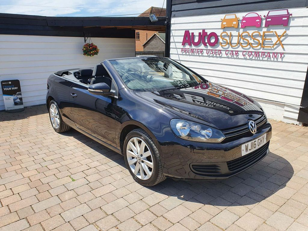 Volkswagen Golf Convertible 2.0 TDI BlueMotion Tech SE BlueMotion Cabriolet 2dr