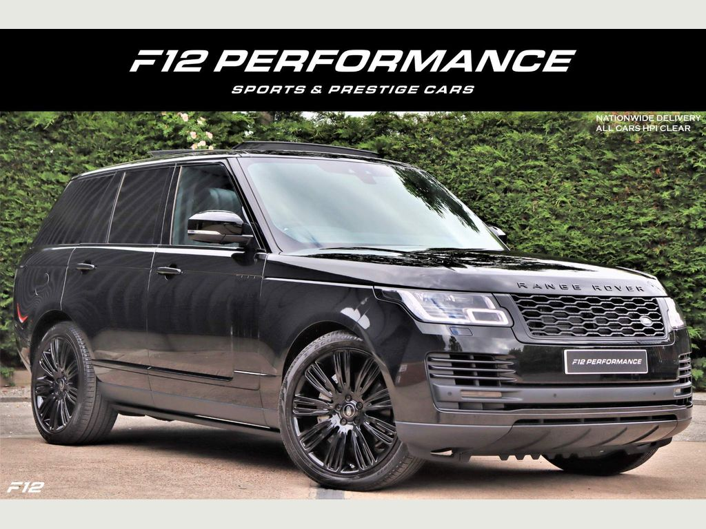 Land Rover Range Rover SUV 3.0 D300 MHEV Westminster Black Auto 4WD (s/s) 5dr