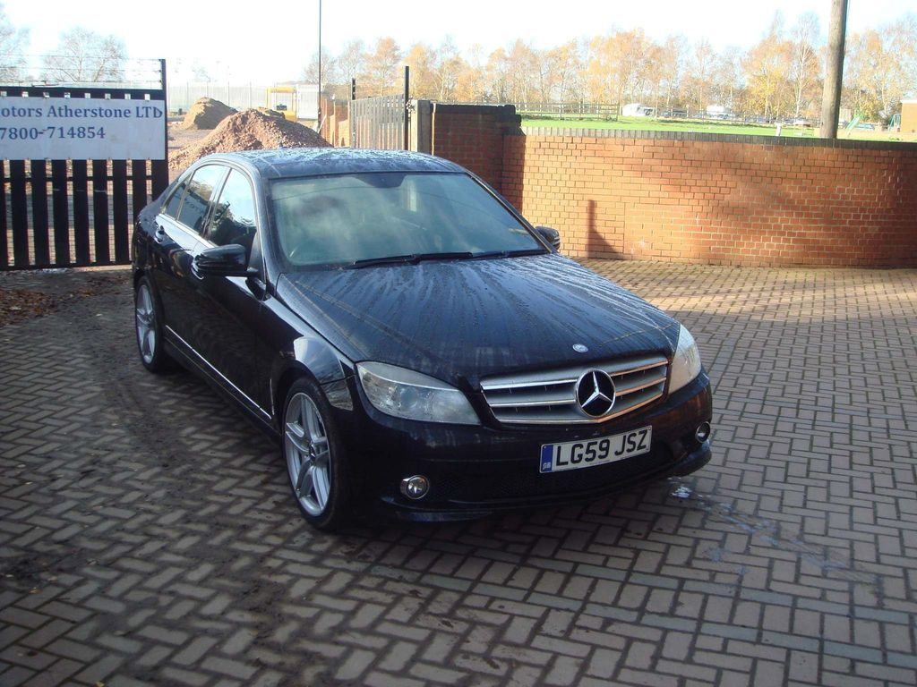 Mercedes-Benz C Class Saloon 3.0 C350 CDI Sport 7G-Tronic 4dr