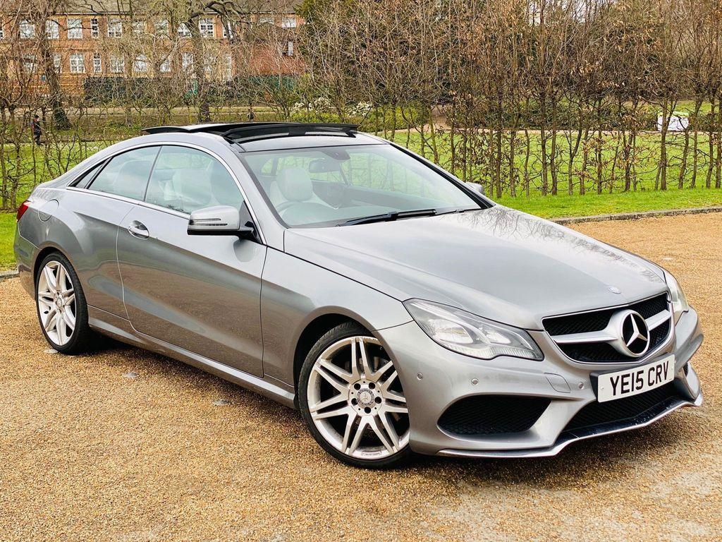 Mercedes-Benz E Class Coupe 2.1 E250 CDI AMG Line 7G-Tronic Plus (s/s) 2dr