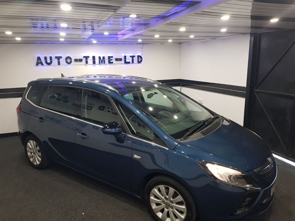 Vauxhall Zafira Tourer MPV 2.0 CDTi Tech Line 5dr
