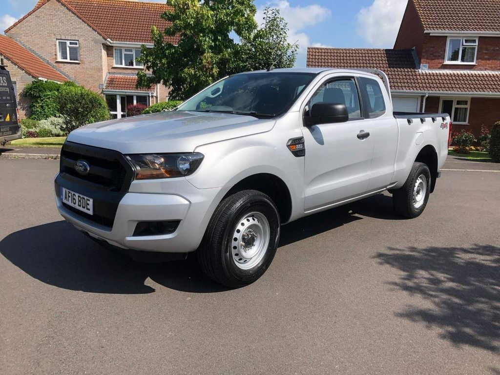 Ford Ranger Pickup 2.2 TDCi XL Super Cab Pickup 4WD (s/s) 4dr (Eco Axle, AC)