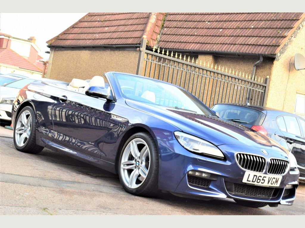 BMW 6 Series Convertible 3.0 640i M Sport Auto (s/s) 2dr