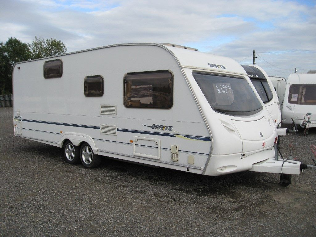 Swift SPRITE QUATTRO Tourer 2006 6 BERTH FIXED BUNKS