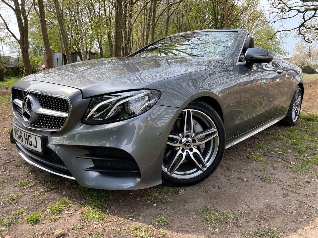 Mercedes-Benz E Class Convertible 2.0 E220d AMG Line (Premium) Cabriolet G-Tronic+ (s/s) 2dr