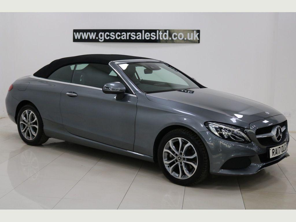 Mercedes-Benz C Class Convertible 2.1 C220d Sport (Premium Plus) Cabriolet G-Tronic+ 4MATIC (s/s) 2dr