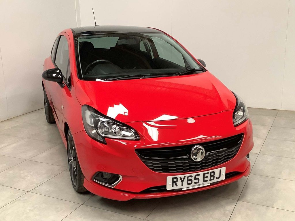 Vauxhall Corsa Hatchback 1.4i Turbo Red Edition (s/s) 3dr