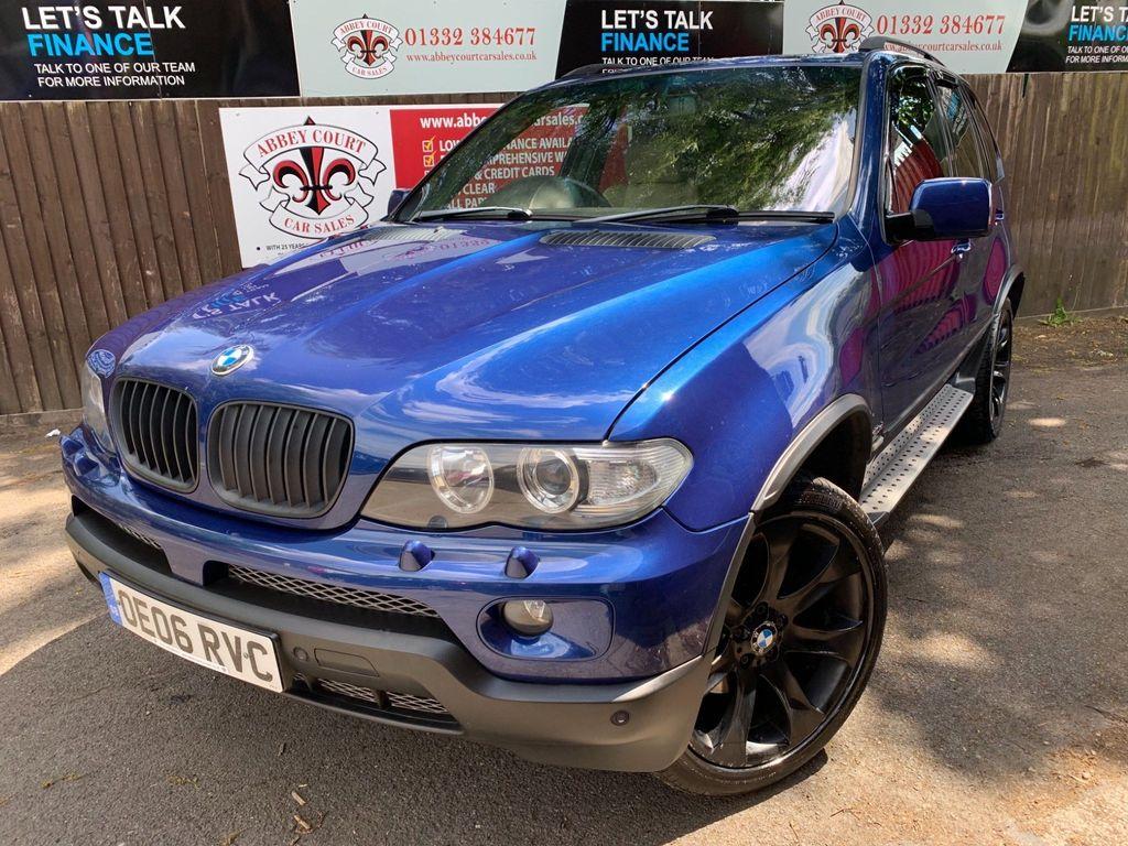 BMW X5 SUV 3.0d Le Mans Blue Sport Edition Auto 4WD 5dr