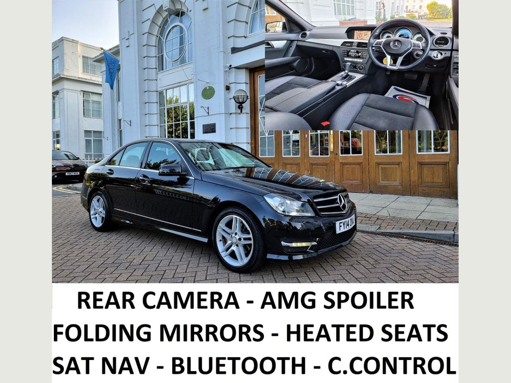 Mercedes-Benz C Class Saloon 2.1 C220 CDI AMG Sport Edition (Premium) 7G-Tronic Plus 4dr