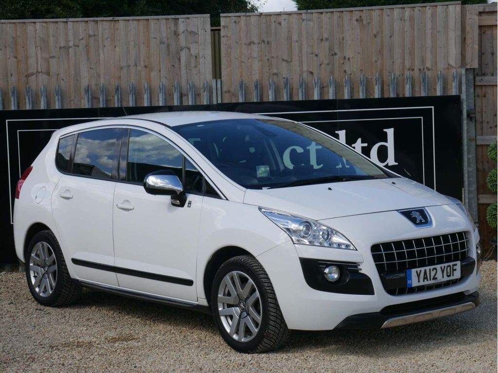 Peugeot 3008 SUV 2.0 e-HDi Hybrid4 4X4 5dr