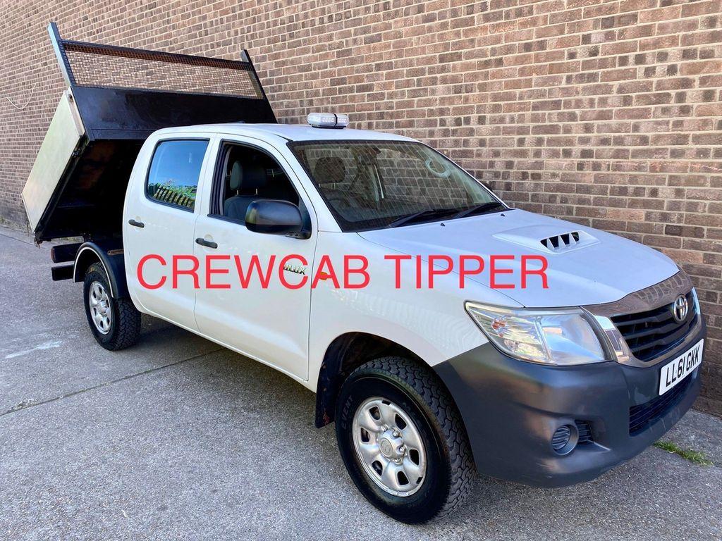 Toyota Hilux Tipper 2.5 D-4D HL2 Crewcab Tipper 4x4