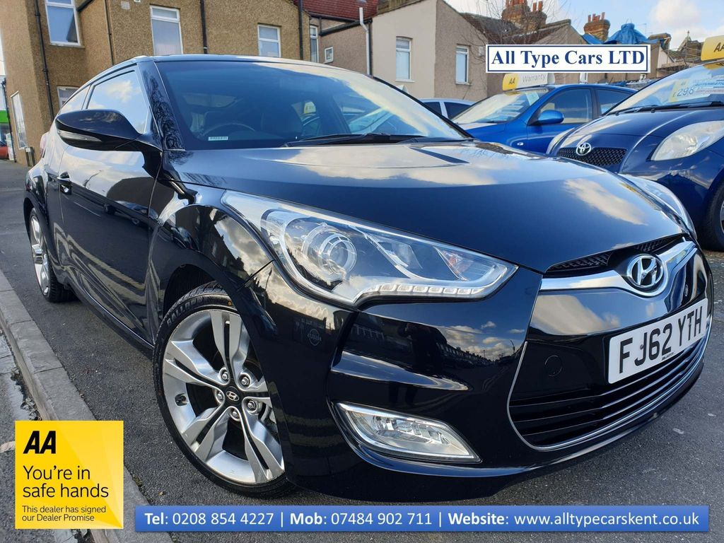 Hyundai Veloster Coupe 1.6 Sport (Media Pack) 4dr
