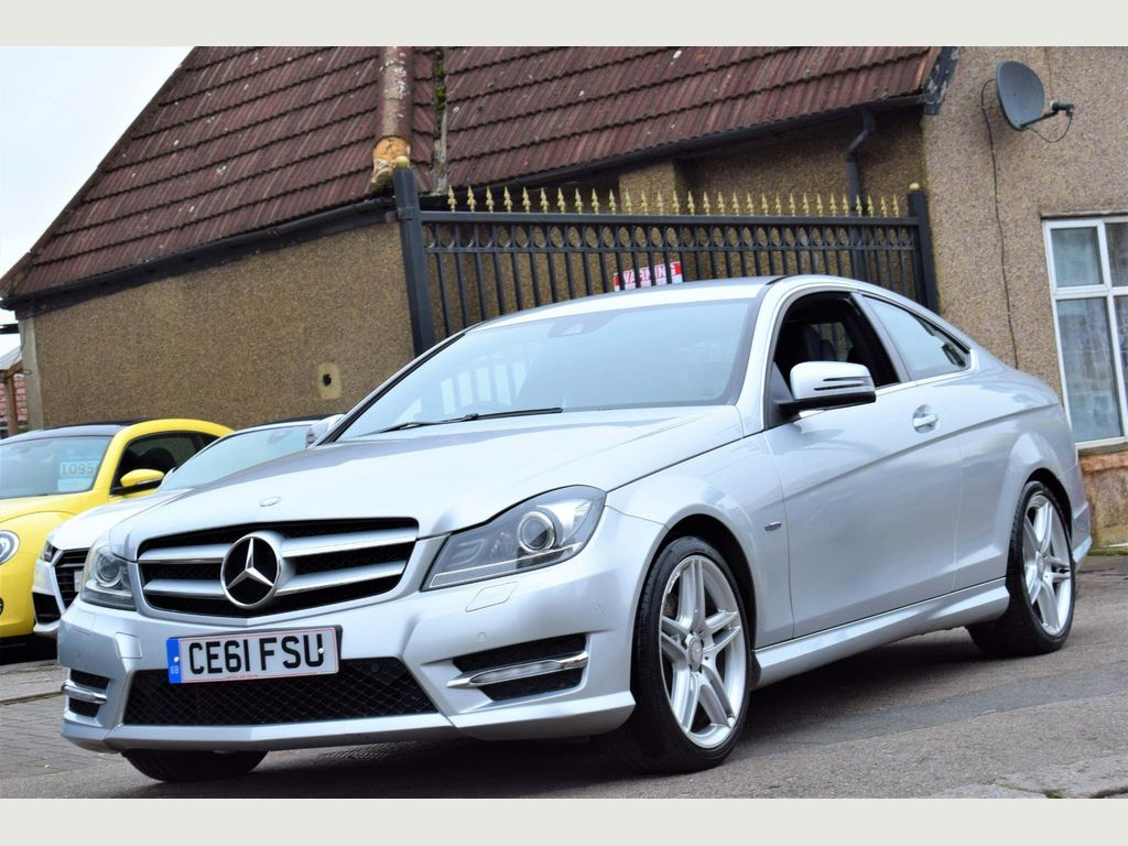 Mercedes-Benz C Class Coupe 3.5 C350 BlueEFFICIENCY AMG Sport Edition 125 7G-Tronic 2dr