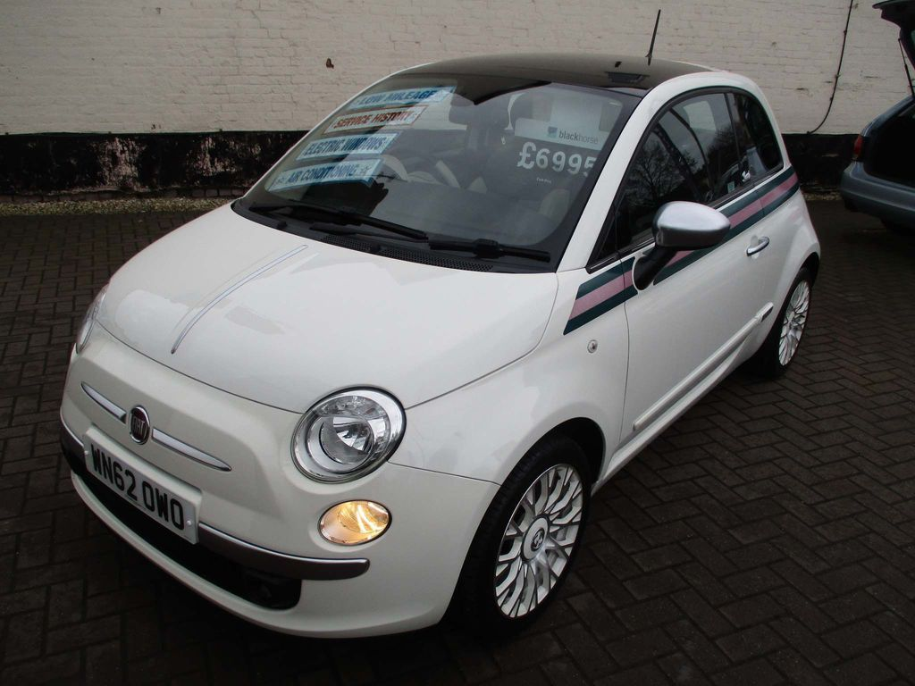 Fiat 500 Hatchback 1.2 by Gucci 3dr