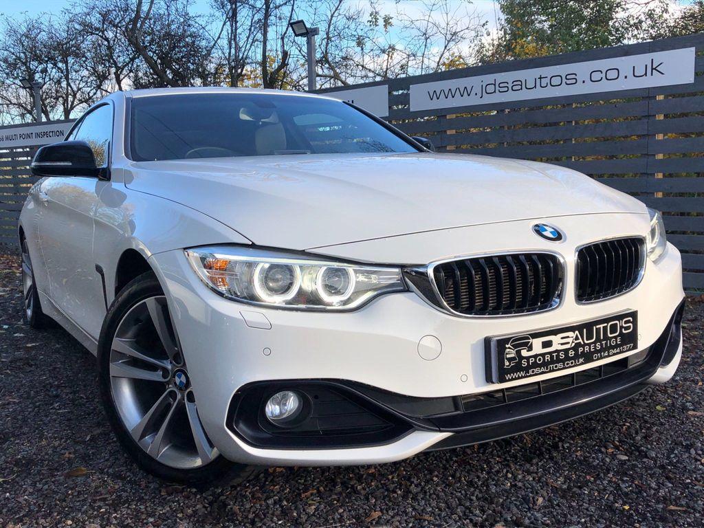 BMW 4 Series Coupe 2.0 420d Sport 2dr