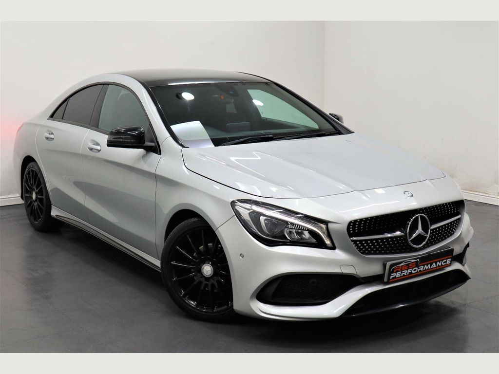 Mercedes-Benz CLA Class Coupe 2.1 CLA200d AMG Line (s/s) 4dr