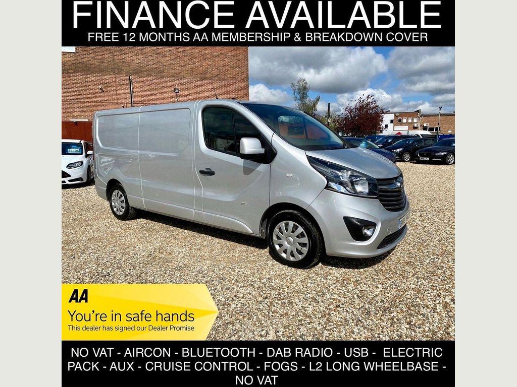 Vauxhall Vivaro Panel Van 1.6 CDTi 2900 Sportive L2 H1 EU6 5dr