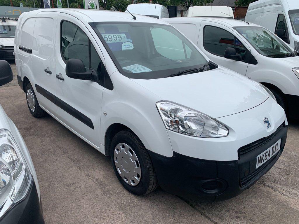 Peugeot Partner Combi Van 1.6HDi L2 LWB COMBI-VAN (5 SEATER)
