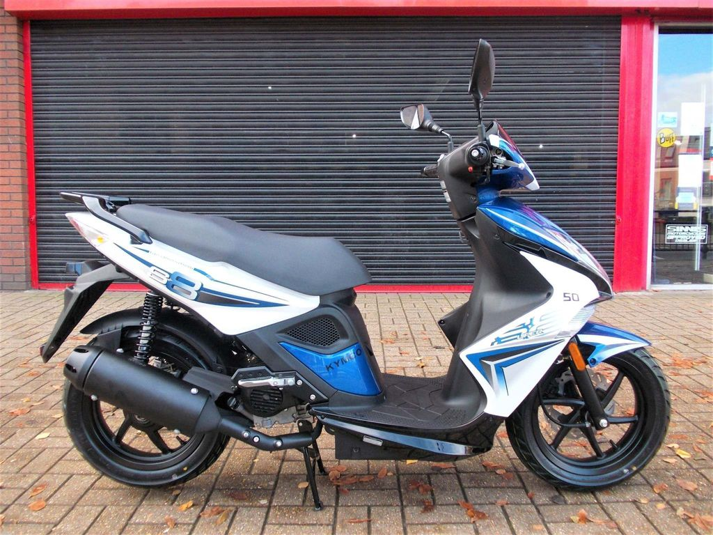 Kymco Super 8 Moped 50