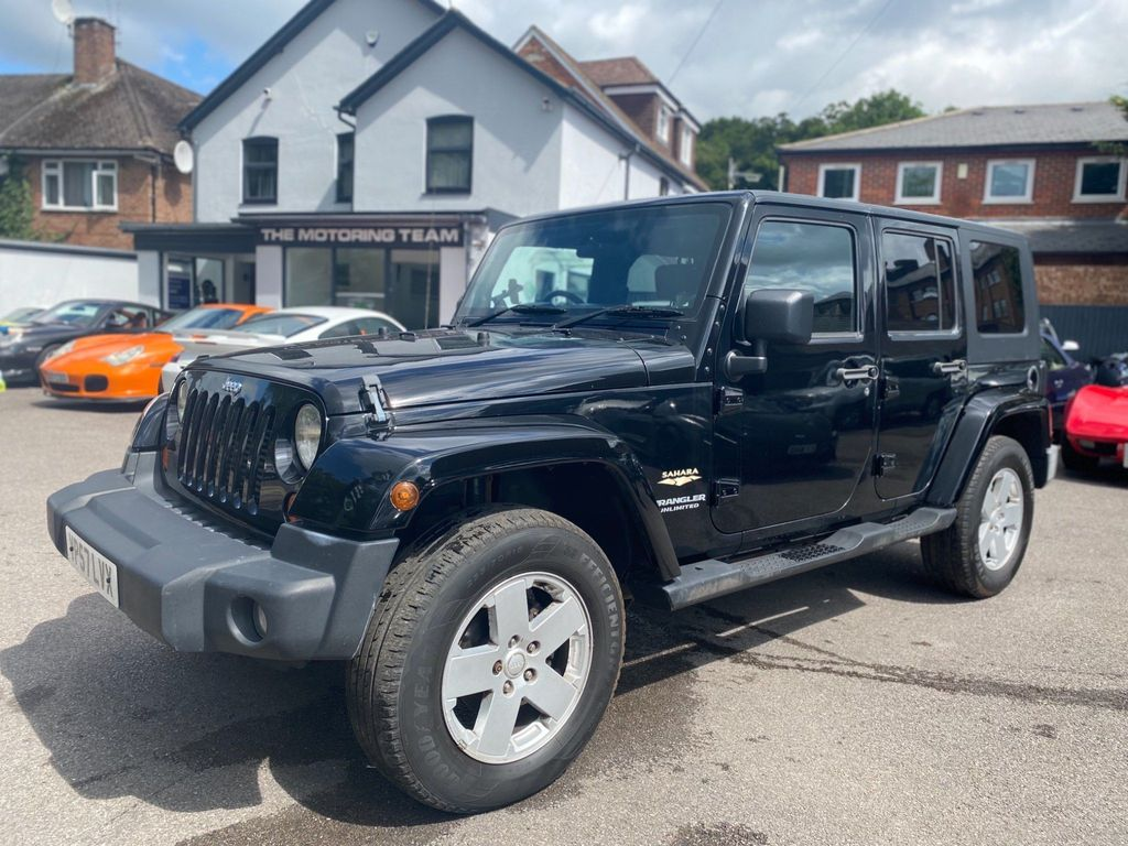Jeep Wrangler SUV 2.8 CRD Sahara Unlimited 4WD 4dr